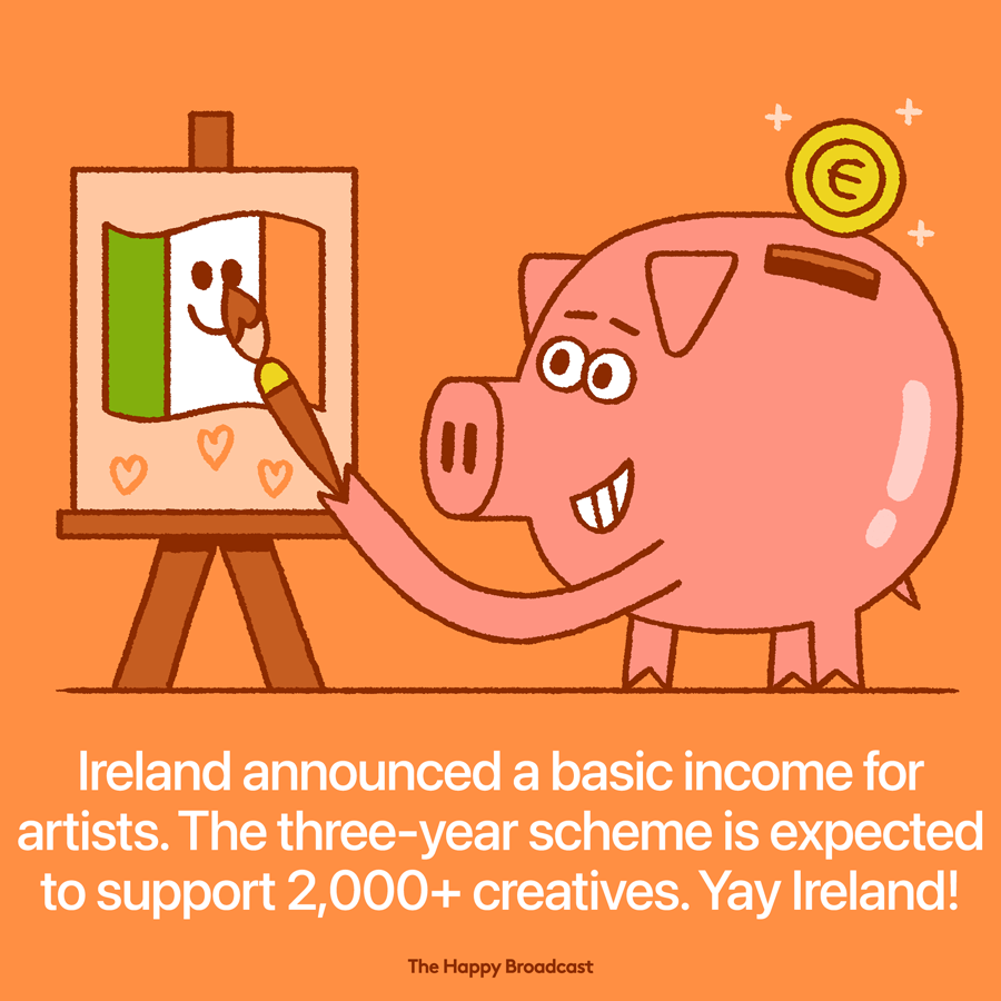 Ireland launched basic income for artists