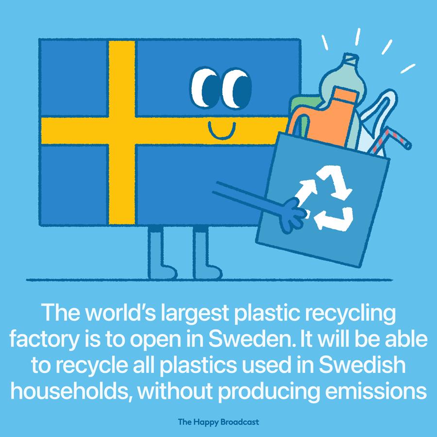 The Swedish plastic recycling revolution